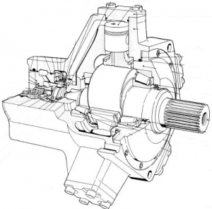 هیدروموتورهای-شعاعی